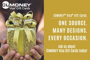 CU Money Gift Cards